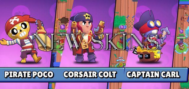 New pirate skins