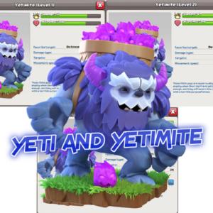 YETI AND YETIMITE