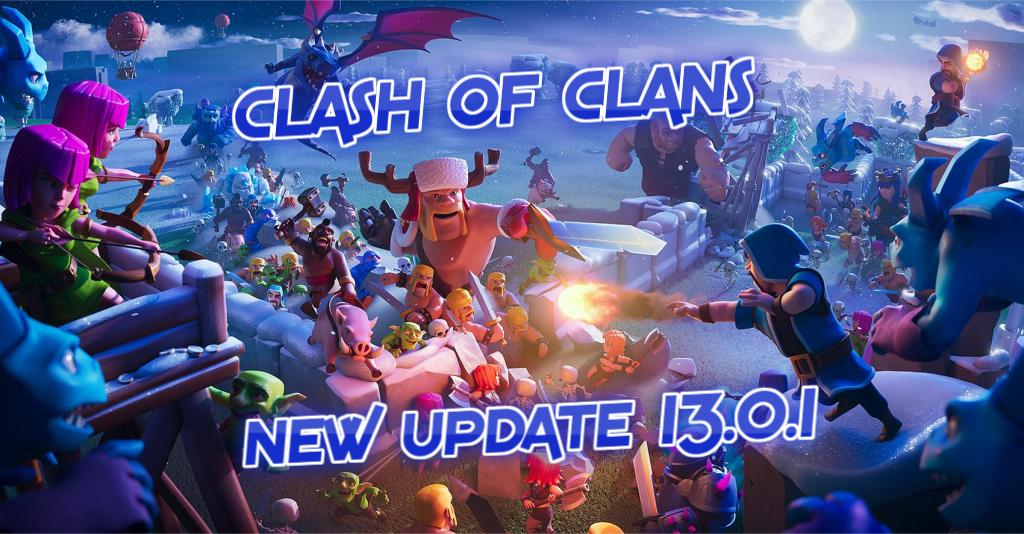 UPDATE clash of clans 13.0.1
