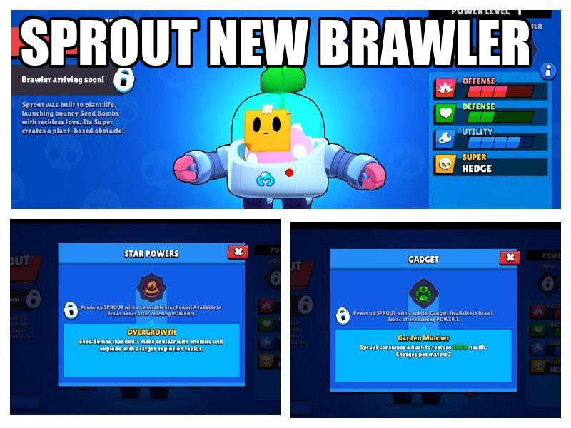 sprout new brawler