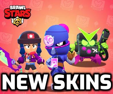 New skins nulls brawl 25.107