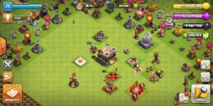 Native base of TH 11 in nulls clash 13.180