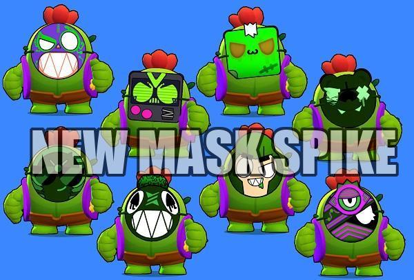 new mask spike