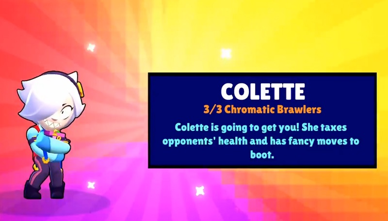 colette with brawl pass
